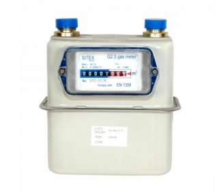 Sitex G2.5 Gas meter